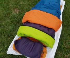Camping/Backpacking Quilt System