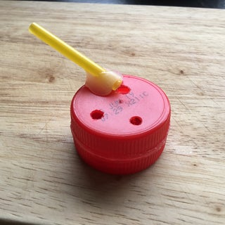 Make a Whistle From Bottle-tops.