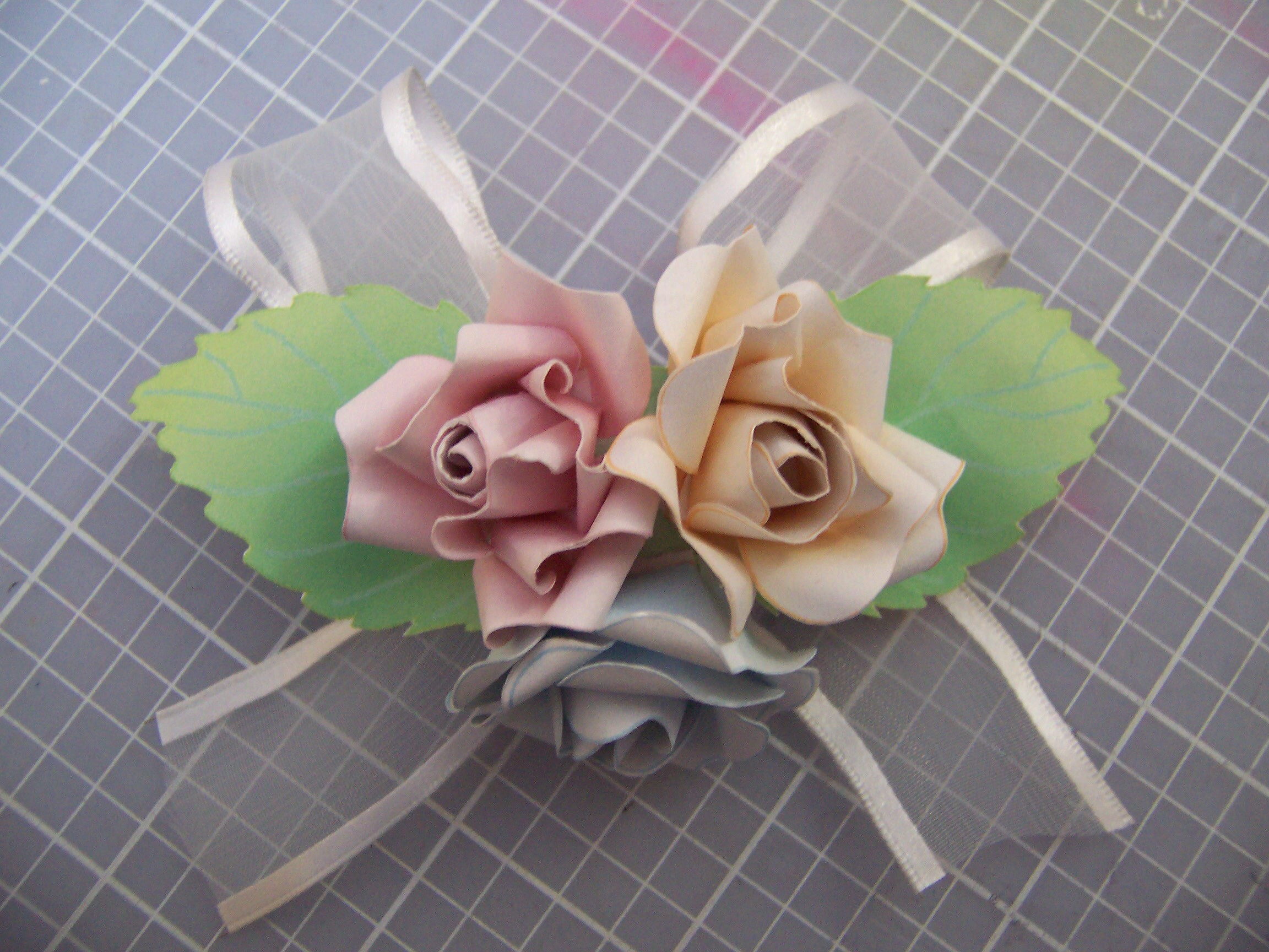 How to Make a Paper Corsage