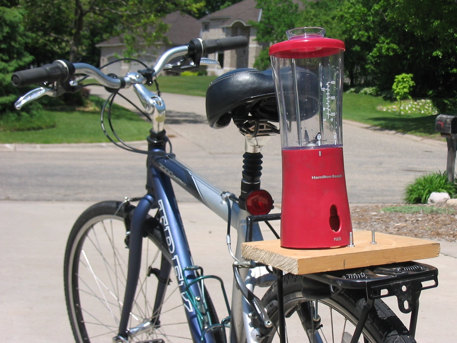 Bikes That Generate Electricity bike blender