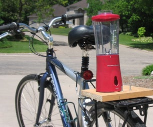 How to Create a Smoothie Making Human Powered Bike Blender for Less Than $25