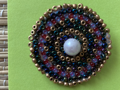 Circular Brooch