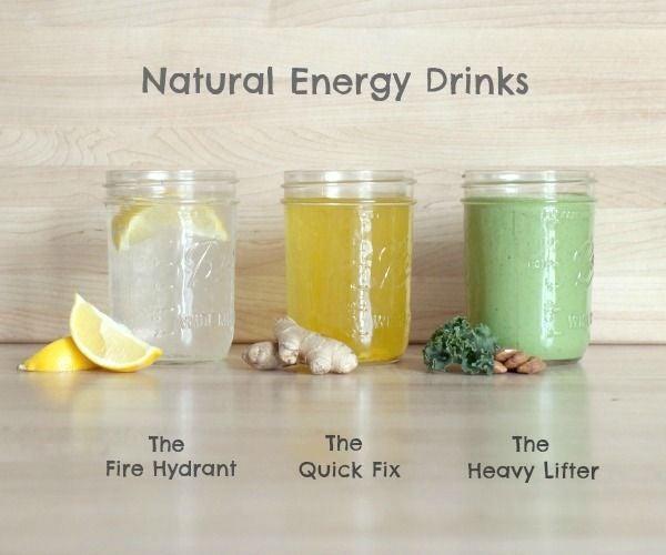 How to Make Homemade Energy Drinks