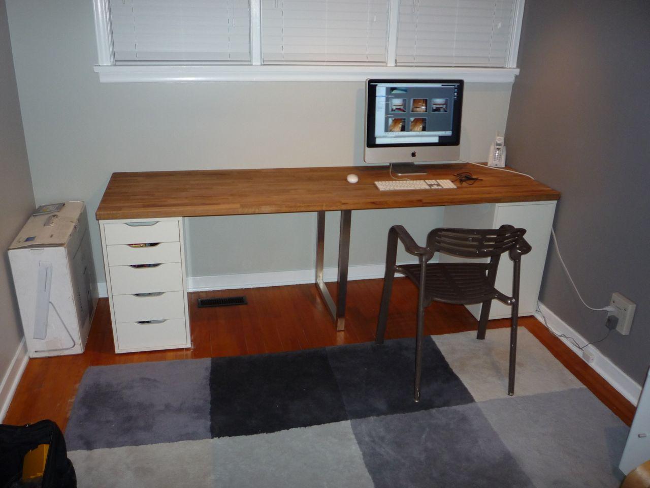 Giant Ikea Numerar Desk 6 Steps Instructables