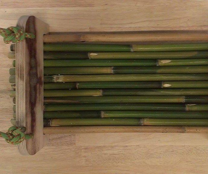 Bamboo swing