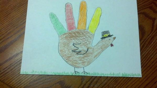 Make a Hand Turkey