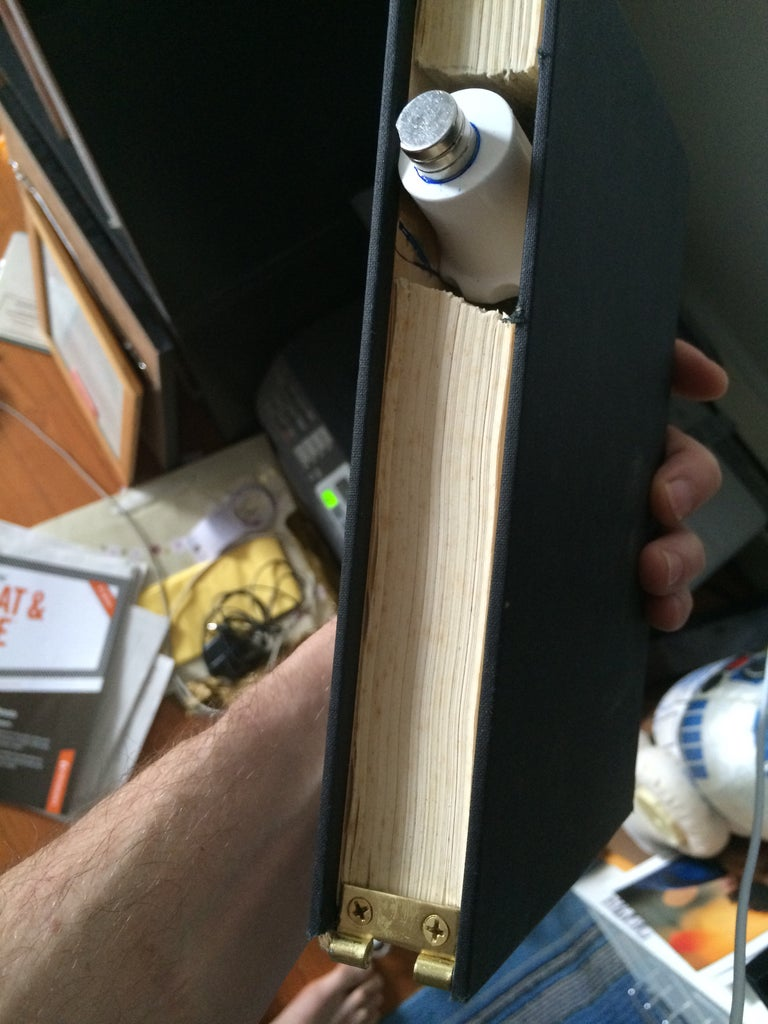 CREATE THE SUPER SECRET BOOK LOCK!