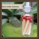 Mini Match Glass Bottle!