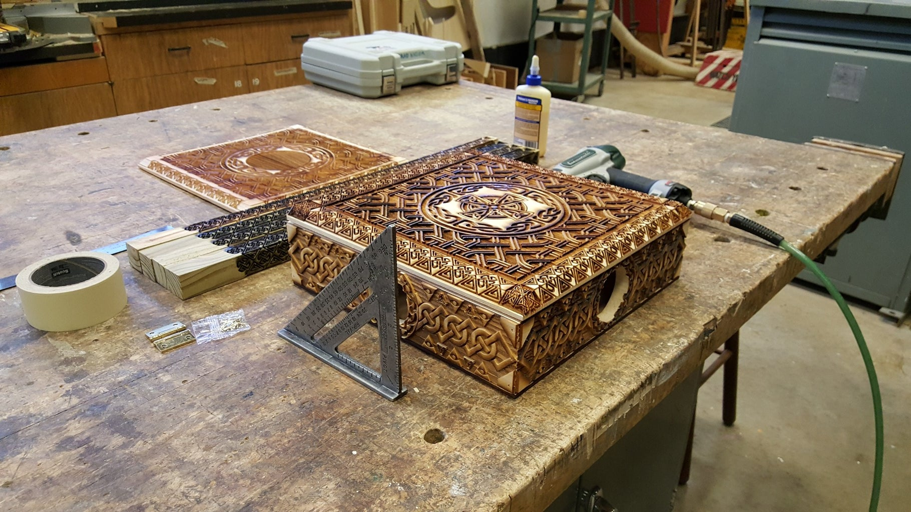 Engraving the Wood