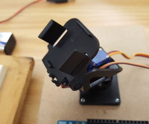 Wireless (RF) Remote Controlled Servo Based Pan/Tilt Using Arduino With Adjustable Position Setting