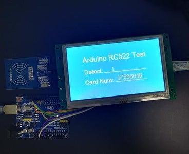 MFRC522 + STONELCD + Arduino