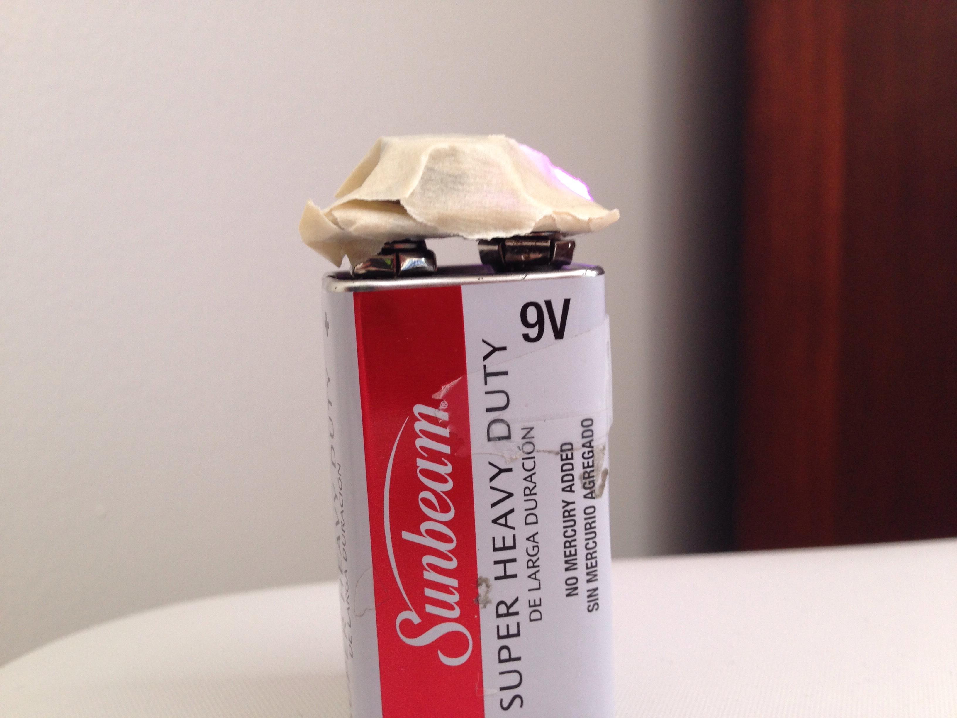 9 Volt Battery Noise Module PRANK