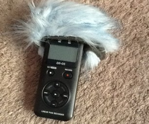 Dead Cat Wind Muff    Tascam Dr-05