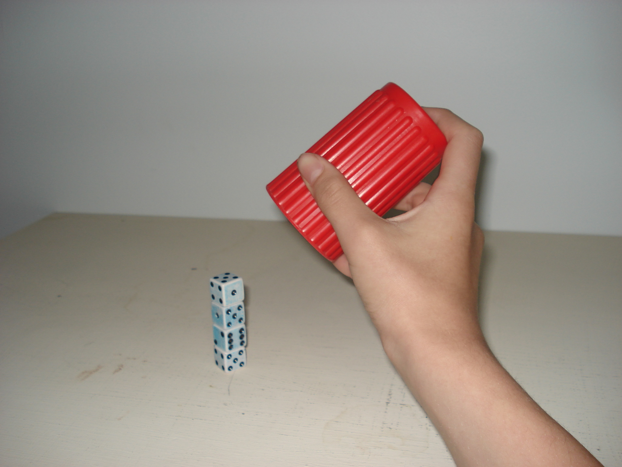 Basic Dice Stacking