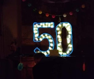 Light Up Birthday Numbers