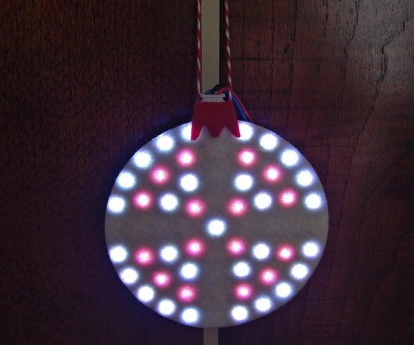 Neopixel Led Ring Ornament
