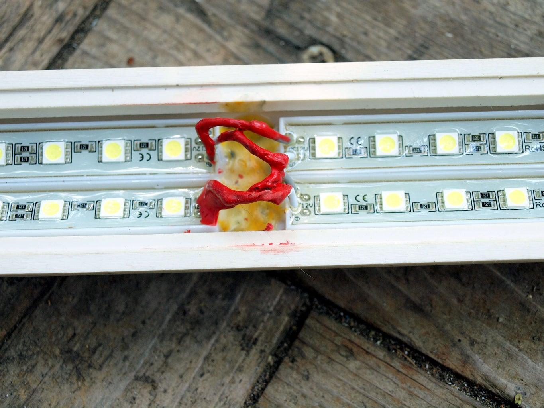 Adding the LED's