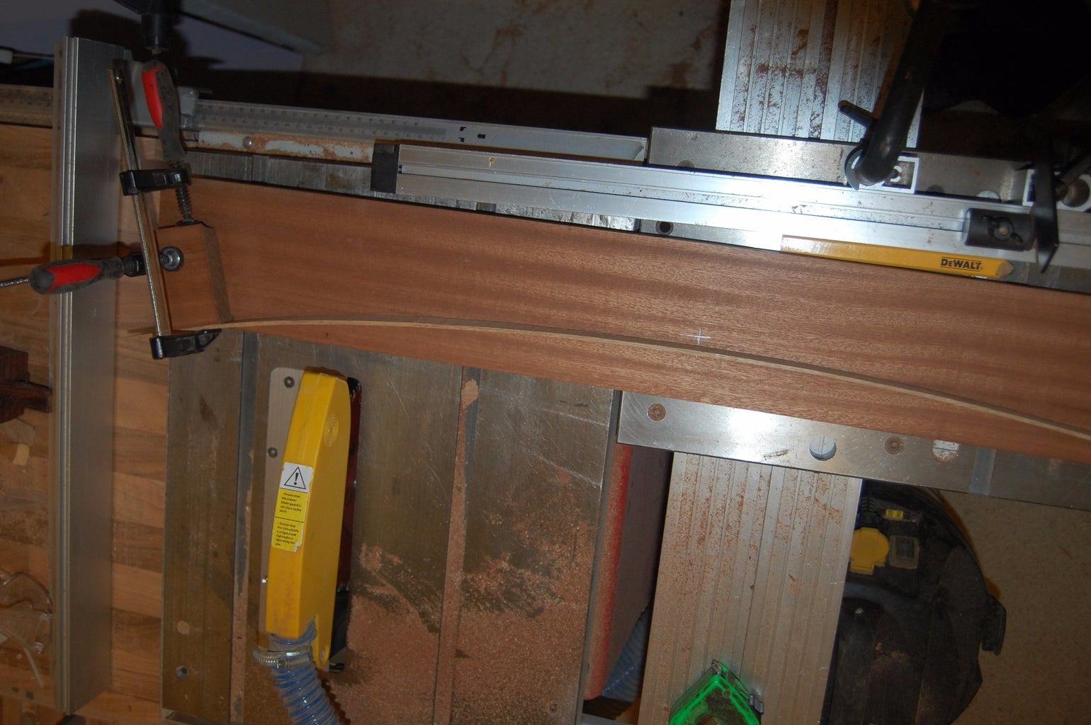 Shaping the Uprights
