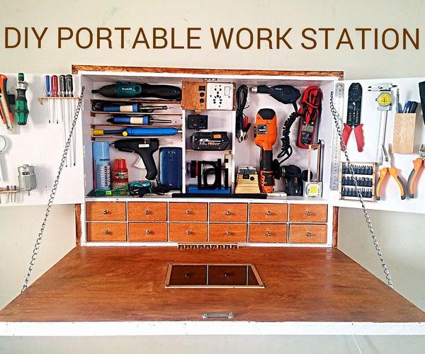 DIY PORTABLE WORK STATION