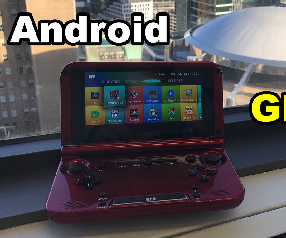 LegacyROM in GPD XD Android Portable