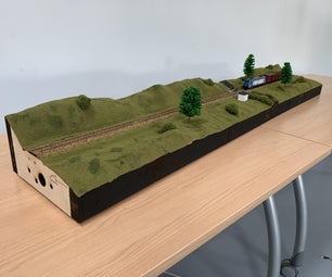 Fab Train Model (Frame and Composites With CNC)