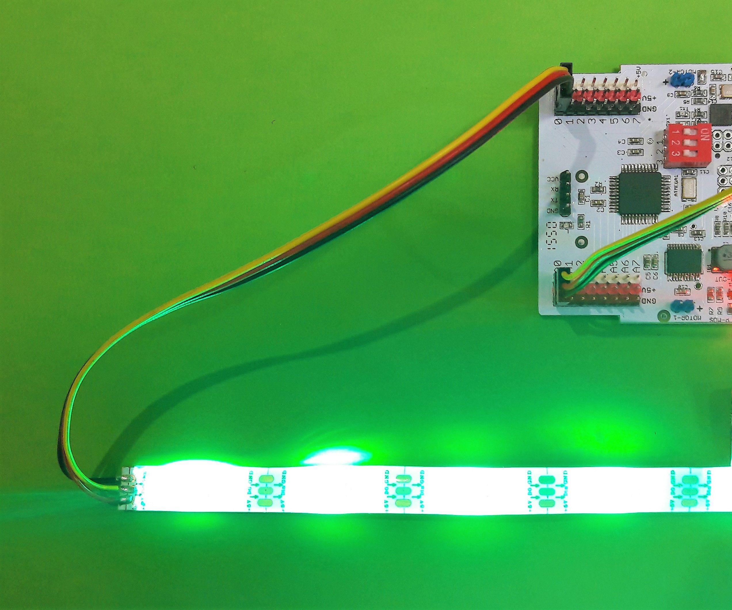 RGB LED Adaptive Camouflage Using Ebot / Arduino