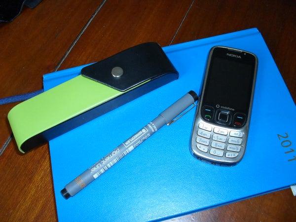 Diary Cover Organiser,holds Pens & More
