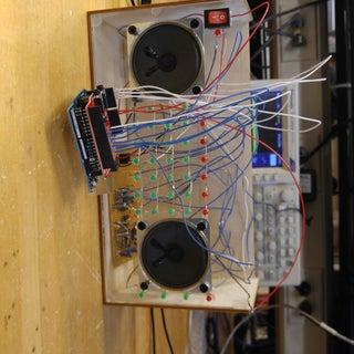 Arduino LED Audio Spectrum