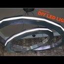 Anillos de luz LED de bricolaje modernos
