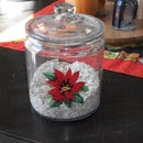 Simple Glass Canister Repurpose