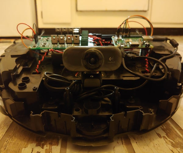 Browser Controlled Roomba Robot With the Raspberry Pi Model 3 A+