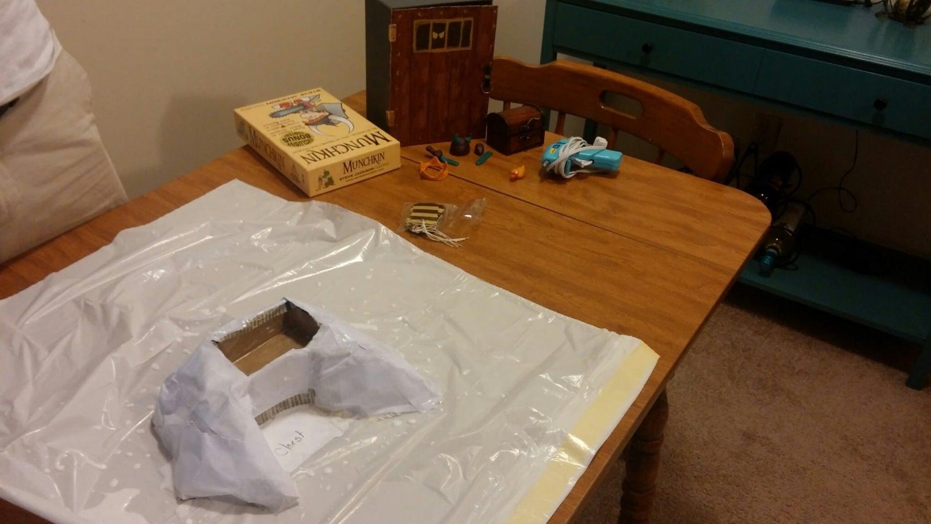 Step 4:  Paper Mache