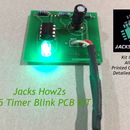 How to Make a 555 Timer Blink Circuit on a PCB!