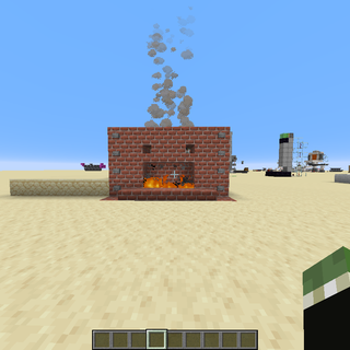 Minecraft Secret Fireplace Entrance
