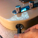 Tighten your guitar's output jack