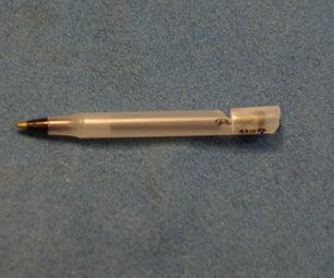 Transform a Ballpoint Pen Into a Survival Whistle Mini-pen