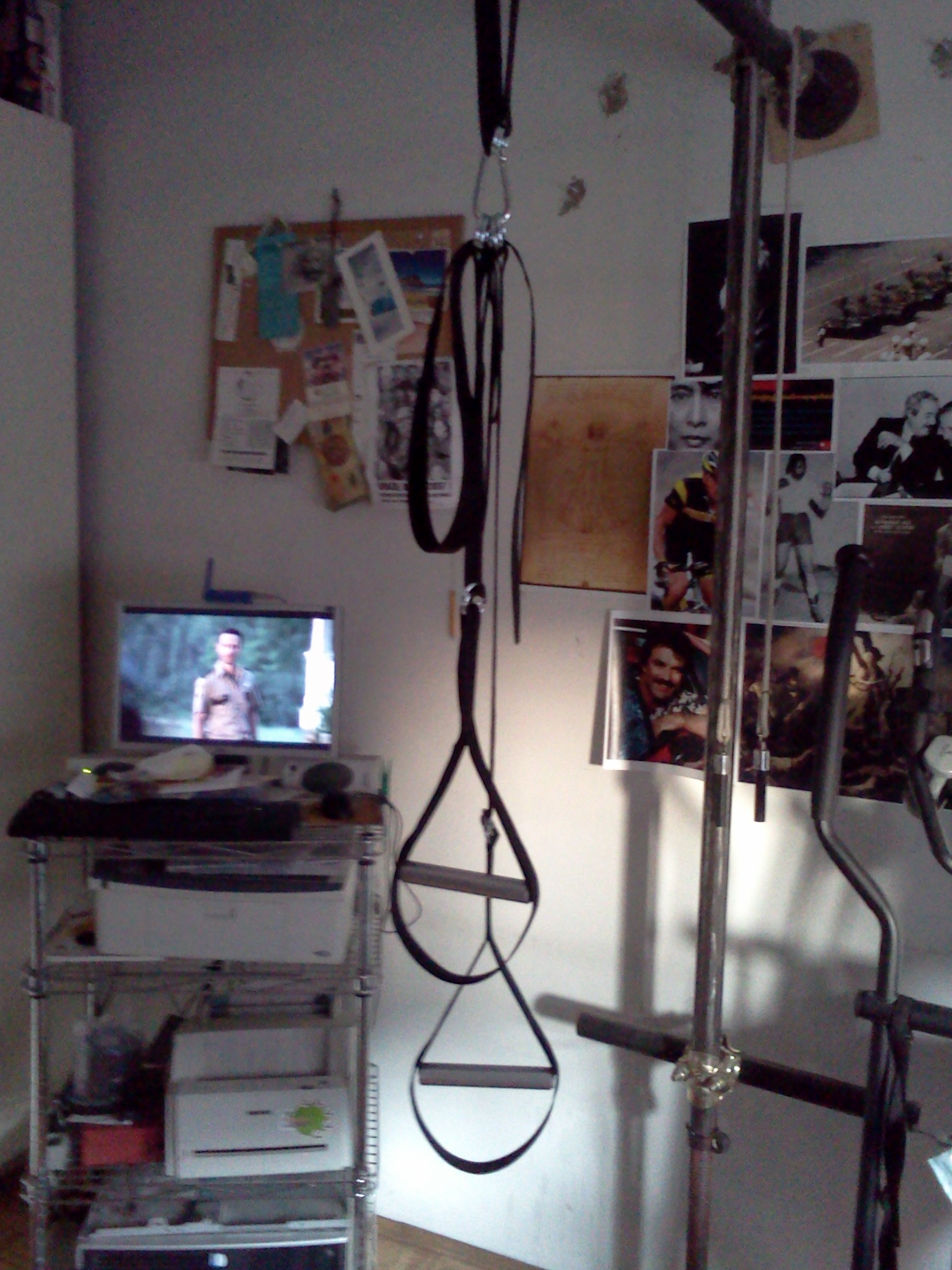 Home Made TRX: bodyweight suspended training system