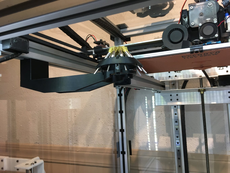 3D Printer Circular Nozzle Cleaner
