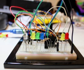 RGB Flashers With Shift Register