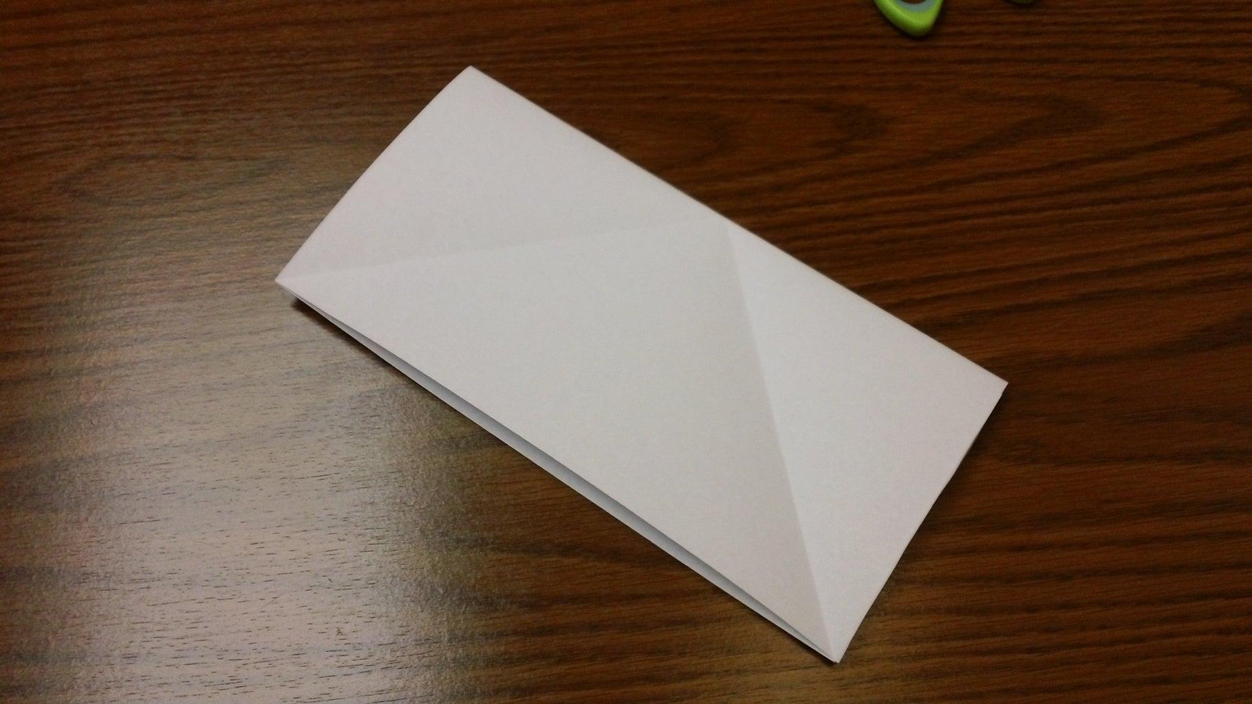Fold the Square Into a Triangle
