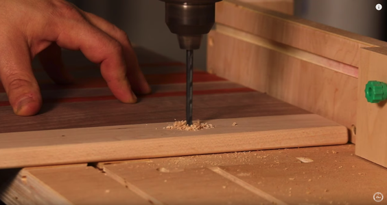 Install Handles on the Serving Board