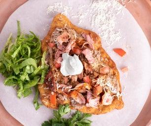 Barbecue Navajo Tacos (Indian Fry Bread)