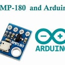 Interfacing BMP180 ( Barometric Pressure Sensor) with Arduino