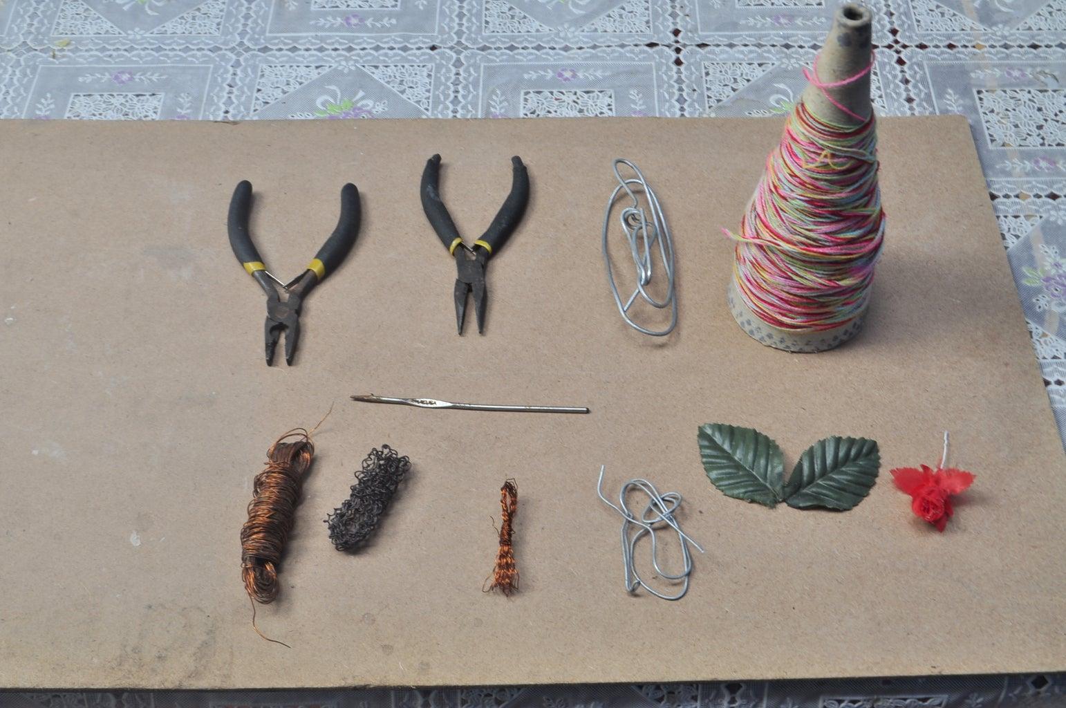 Materials & Tools - Materiales