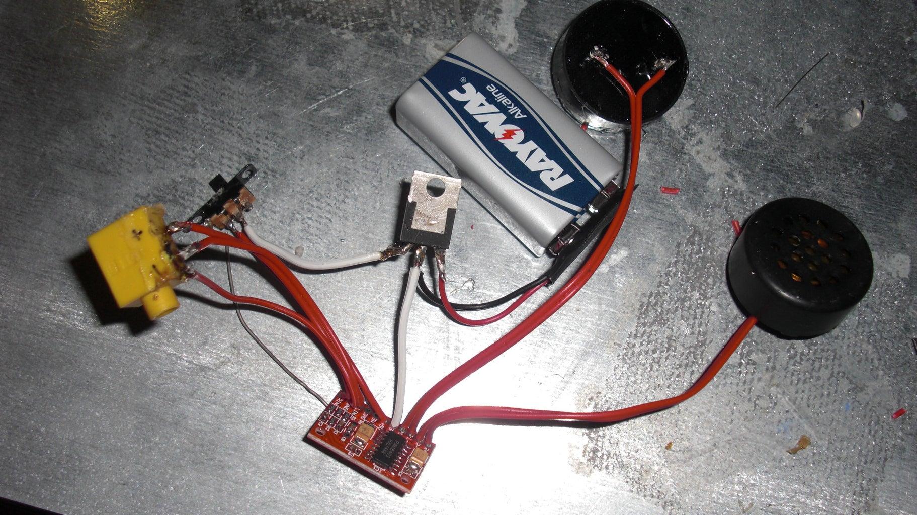 Powering the Speaker