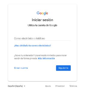 Nos Dirigiremos Google.com Para Crear Una Nueva Cuenta