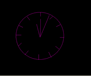 Scope Clock :Analog Clock  and  Temperature Sensor on an Oscilloscope