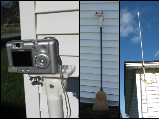 Make anything into a tripod, and a few ideas for your camera