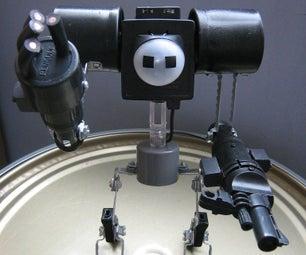 Construye Un Vibrobot De Batalla (reutilizando Basura Plástica Y Metálica)