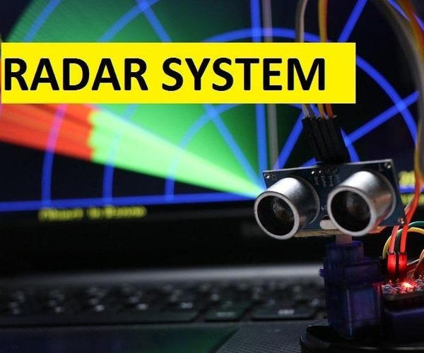 How to Make RADAR Using Arduino for Science Project   Best Arduino Projects